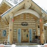 Larger size logs give your home a one of a kind look